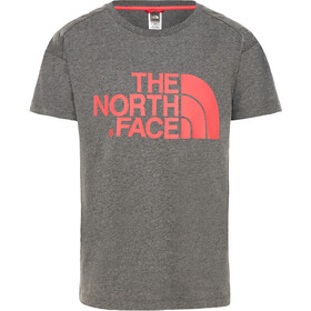 The North Face Boyfriend SS Tee Mädchen tnf medium grey heather